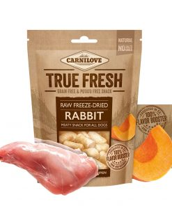 recompense caini carnilove fresh snack iepure