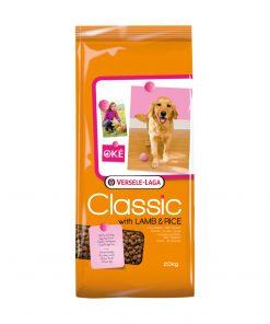 Versele-Laga Classic with Lamb&Rice este o hrana uscata pentru caini adulti si activi de toate rasele.